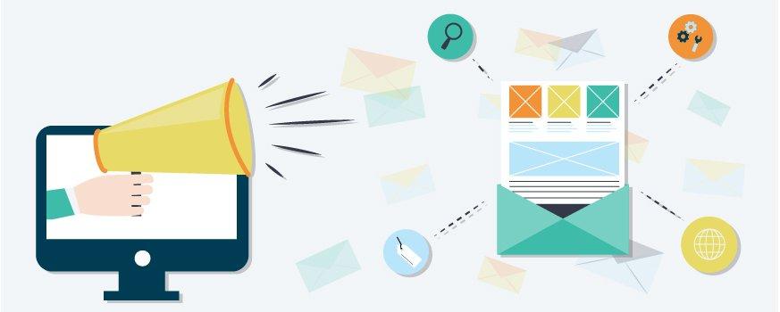 Kom i gang med e-postmarkedsføring