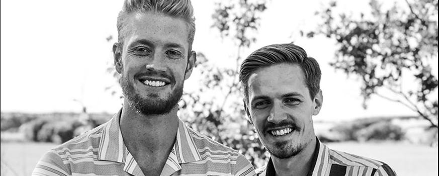 To nordjyske gutter har succes med at sælge smykker til mænd
