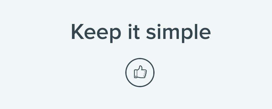 E-handel er best når det er enkelt