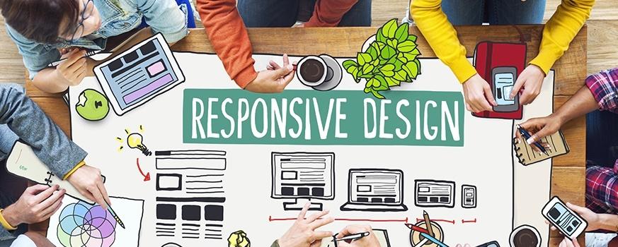 Responsivt Nettdesign på nettbutikken eller hjemmesiden din