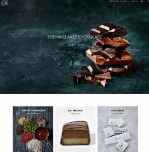 www.olechokolade.dk