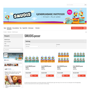 www.smudis.no<br>
