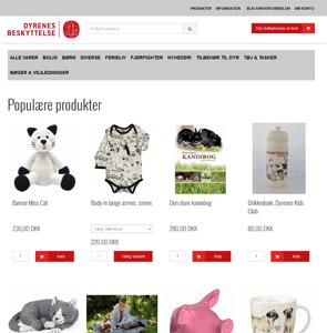 www.shop.dyrenesbeskyttelse.dk<br>