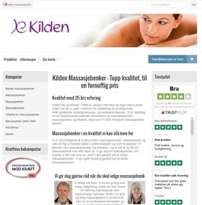 www.kilden-massasjebenker.no<br>
