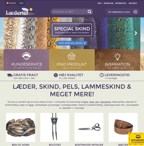 www.laederiet.dk<br>